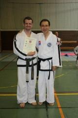 GM Choi and Master Svendsen